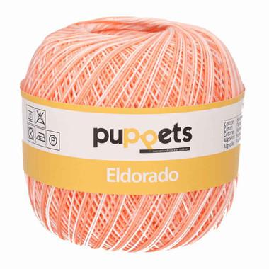 Anchor Puppets Eldorado 50g Crochet Yarn 12 Tkt | 0032 Variegated Pale Pink