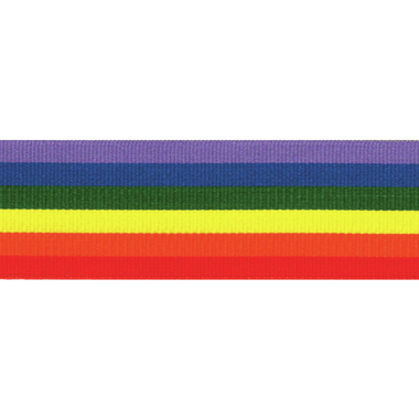 Berisfords | Rainbow Ribbon | Half Metre Lengths | Various Widths - Main Image