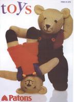 Patons Toy Pattern Knitting Book