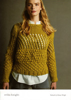 Suburb Womens Lacy Sweater Pattern | Emma Wright