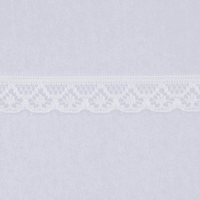 Essential Trimmings | Nylon Lace | 10mm | Half Metre Lengths