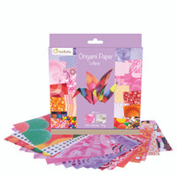 'Lollipop', 20 x 20 cm, 70g Origami Paper | 60 sheets + 1 Eye Sticker Sheet (ORI20LOL)
