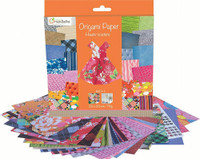 'Haute-Couture' 70g Origami Paper | 20 x 20 cm | 60 sheets + 1 Eye Sticker Sheet