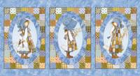 "Hollie Hobby Panel | Three Little Girls | 43"" x 23.5"" approx (4380-24073)"