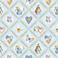 Hollie Hobby - Hearts and Butterfies | SPX Fabrics (4380-24077)