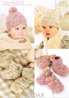 Babies / Toddlers Hats, Mitts & Bootees DK Pattern | Sirdar Snuggly Tiny Tots 1491 - Main image