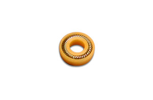 UHMW-PE Plunger Seal, Gold, LDC/Milton Roy, 10/Pk