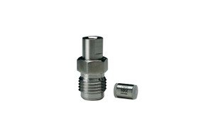 "OPTI-MAX® Inlet Check Valve, 1/8"" Ceramic, SS Cartridge, Perkin-Elmer"