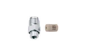 "OPTI-MAX® Outlet Check Valve, 1/16"" Ceramic, PEEK Cartridge, Shimadzu, LC-2010,  LC-600/LC-9A, LC-10AD/ADVP/AT/ATVP"