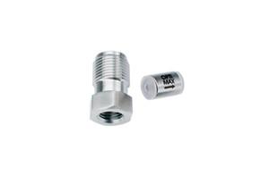 "OPTI-MAX® Inlet Check Valve, 3/16"" Ceramic, SS Cartridge, Shimadzu, LC-8A"