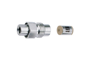 "OPTI-MAX® Inlet Check Valve, 1/16"" Double Ceramic, SS Cartridge, Shimadzu LC-20ADXR, LC-20ABXR"