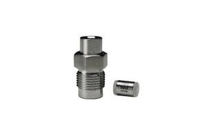 "OPTI-MAX® Outlet Check Valve, 1/8"" Ceramic, SS Cartridge, Varian 2010"