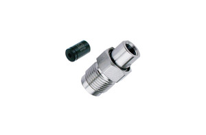 "OPTI-MAX® Outlet Check Valve, 1/8"" Ruby/Sapphire,PEEK Cartridge, Varian 2510"