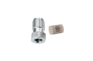 "OPTI-MAX® Inlet Check Valve, 3/16"" Ceramic, PEEK Cartridge, Shimadzu, LC-8A"