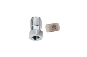 "OPTI-MAX® Inlet Check Valve, 3/16"" Ruby/Sapphire, PEEK Cartridge, Shimadzu, LC-8A"