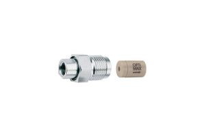 "OPTI-MAX® Inlet Check Valve, 1/16"" Ruby/Sapphire, PEEK Cartridge, Shimadzu, LC-10ADVP, LC-2010"