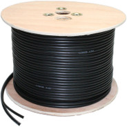 CCTV Cable Shotgun 100m RG59 + 2Core & 100m RG59 single coax CCTV Copper cable