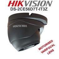 HIKVISION DS-2CE56D8T-IT3ZE Dome Camera Varifocal Motorised EXIR  WDR In/Out door (Grey)