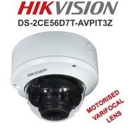 HIKVISION DS-2CE56D8T-AVPIT3Z Dome Camera Varifocal Motorised EXIR  WDR In/Out door