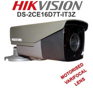 HIKVISION DS-2CE16D8T-IT3Z Bullet Camera Varifocal Motorised EXIR  WDR Outdoor  (Grey)