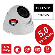 5MP CCTV Dome Camera Sony Starvis  WIDE ANGLE Lens Night Vision for HD TVI CVI AHD Analogue DVR Outdoor
