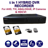 32 channel hybrid DVR hard drive recorder