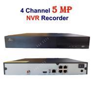 OYN-X Falcon 4 Channel 5MP IP NVR Recorder 1080P High Definition  for IP Cameras UK