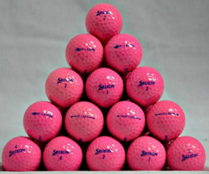 Srixon Lady Soft Feel Pink Golf Balls