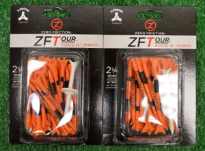 "Zero Fiction ZFTour 3 Prong Orange Golf Tees 2 3/4"" (ZT10009)"
