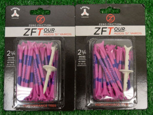 "Zero Fiction ZFTour 3 Prong Pink Golf Tees 2 3/4"" (ZT10010)"