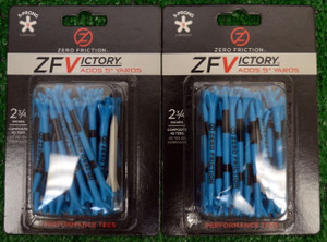 "Zero Fiction ZFVictory 5 Prong Blue Golf Tees 2 3/4"" (ZV10000)"