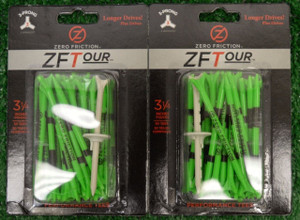 "Zero Fiction ZFVictory 5 Prong Green Golf Tees 2 3/4"" (ZV10001)"