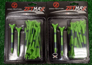 "Zero Fiction ZFVictory Maxx 4 Prong Green Golf Tees 2 3/4"" (ZX15006)"