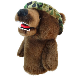 Daphne's Military Bear Driver Headcover
