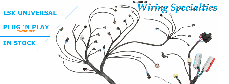 Sensational Wiring Specialties Aftermarket Wiring Harnesses Wiring Digital Resources Cettecompassionincorg