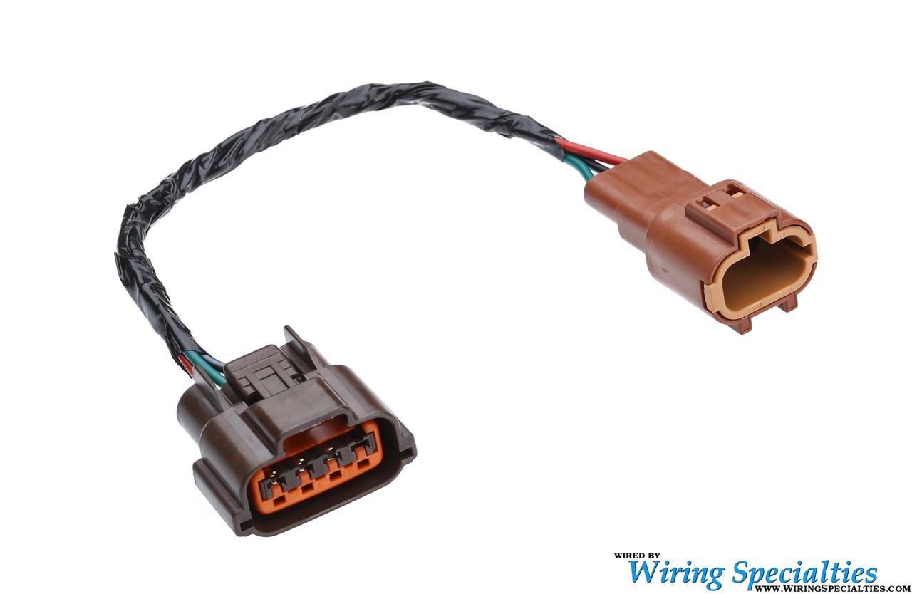 s14 s15 sr20 mafs mass air flow sensor connector wiring specialties rh wiringspecialties com
