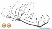 Datsun 260z S14 SR20DET swap wiring harness