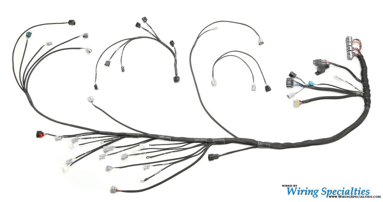 1JZGTE Non-VVTi Wiring Harness for Mazda RX7 FD - PRO SERIES on