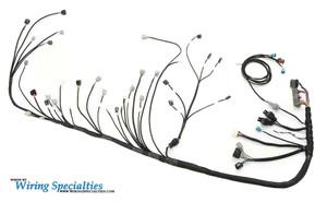 bmw e46 2jzgte swap wiring harness wiring specialties Motorcycle Wiring Harness