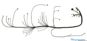 Nissan 240sx S13 1JZGTE VVTi swap  wiring harness
