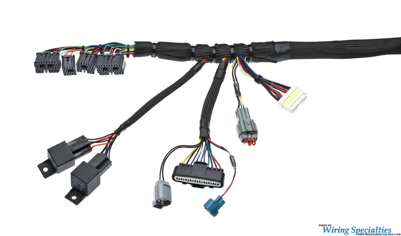 1JZGTE VVTi Wiring Harness for EURO 200sx S13 - PRO SERIES on
