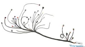 Datsun CA18DET swap wiring harness