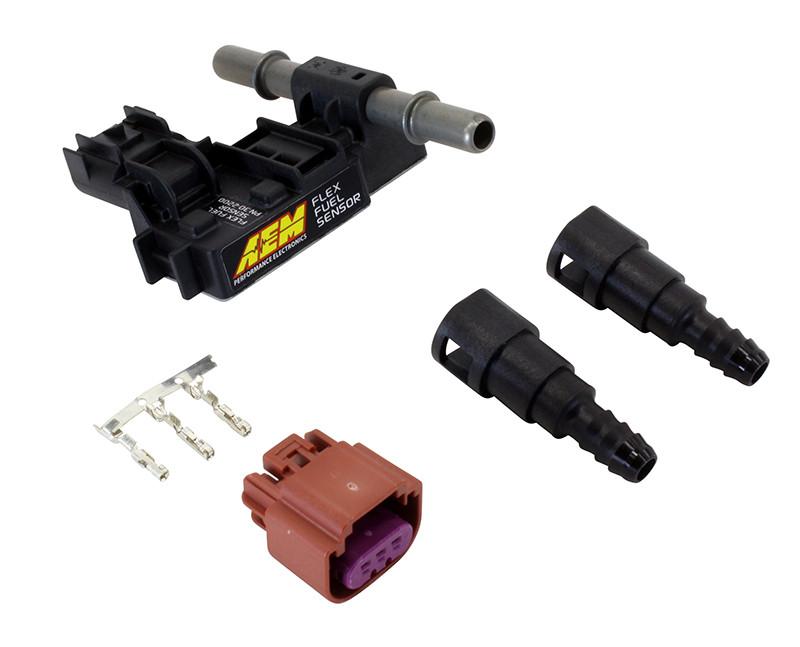 AEM Flex Fuel Sensor Kit 3/8 inch Barb ings Flex Fuel Sensor Wiring on bluetooth sensor, ford mass air flow sensor, electric sensor, hall effect current sensor, traction control sensor, flex code, lm741 with temp sensor, hitch sensor,