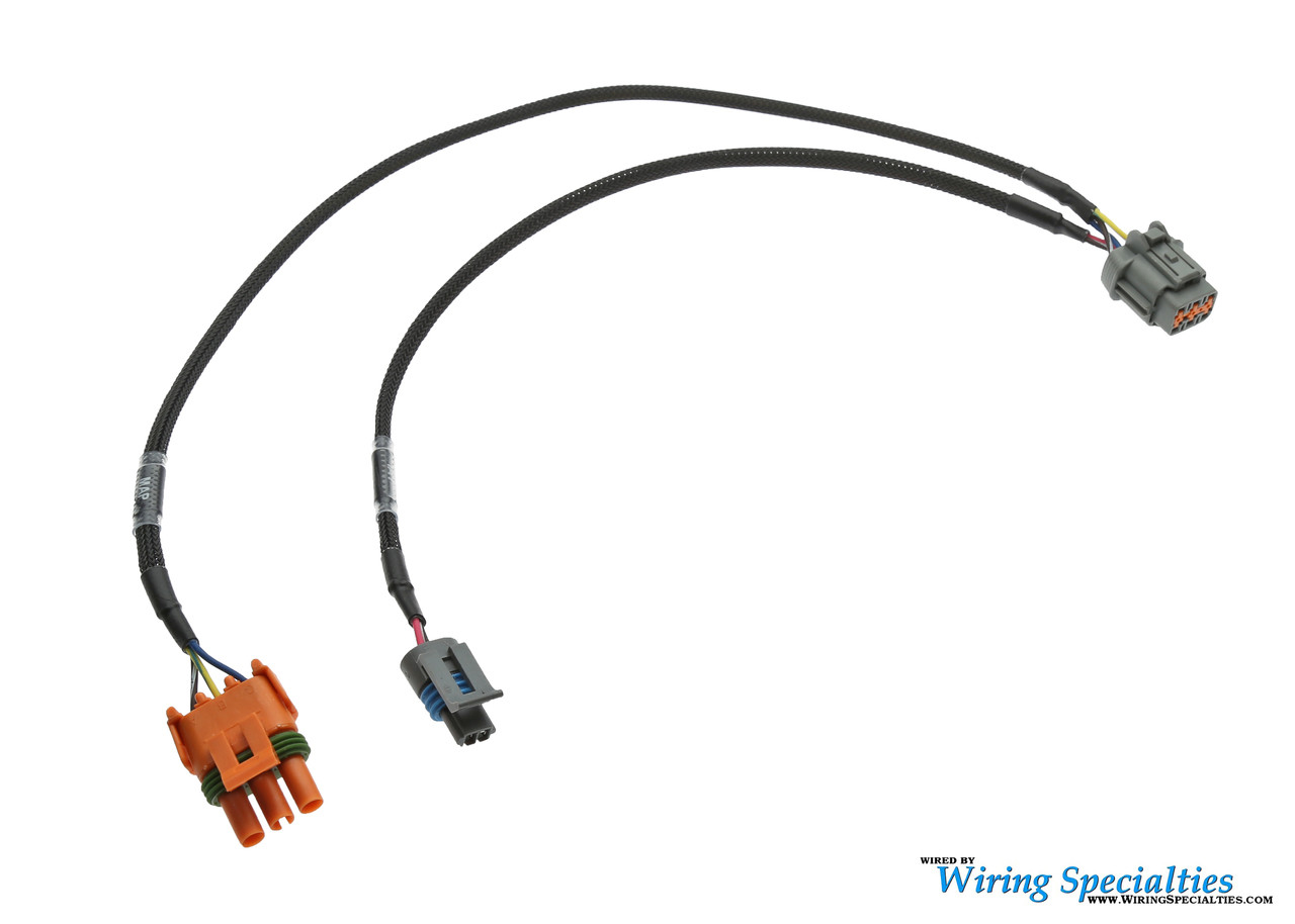 PRO Series Haltech MAP/IAT Plug and Play Sub-Harness