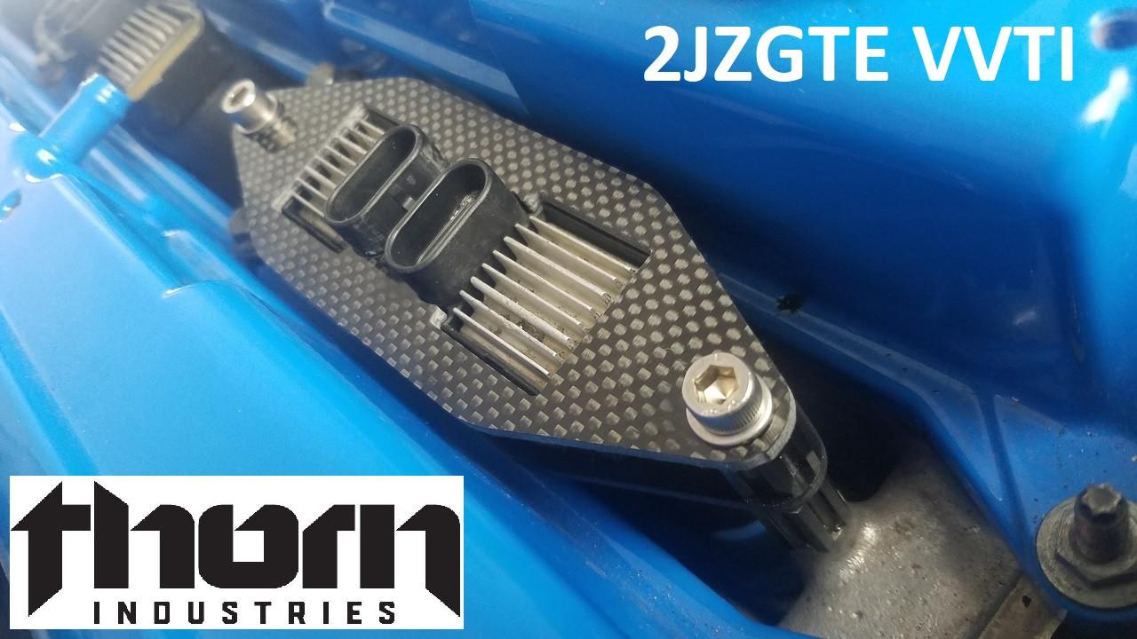 2JZGTE VVTi LQ9 Heat Sink Smart Coil Pack Conversion Kit With Bracket,  Coils, HW