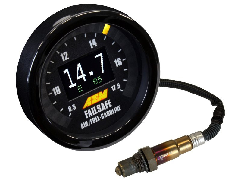 AEM Wideband O2 Failsafe Gauge w/ Flex Fuel Display