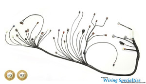 Nissan 350z RB25DET swap wiring harness