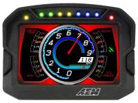 AEM CD-5LG Carbon Enclosure Logging Display, GPS Enabled