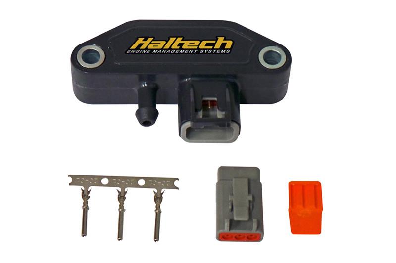 Haltech 4 BAR Motorsports MAP Sensor Kit (inc  plug & pins)