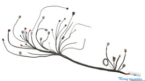 Nissan 240sx S13 CA18DET swap wiring harness